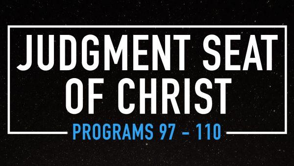 The Judgement Seat of Christ